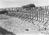 Picture relating to Manuka - titled 'Manuka swimming pool under construction, Manuka Circle, Kingston.'