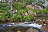 Picture relating to Mount Barney National Park - titled 'Mount Barney Creek at the crossing'
