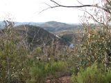 Picture of / about 'Bullen Range Nature Reserve' the Australian Capital Territory - Looking down on the Murrumbidgee River from the Bullen Range