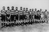 Picture relating to Mount Isa - titled 'Past Brothers Rugby League Team from Mount Isa, 1929-30'