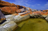 Bay Of Fires Here and there pools add to the allure of Bay of Fires