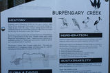 Picture relating to Burpengary Creek - titled 'Burpengary Creek sign'