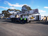 Picture relating to West Wyalong - titled 'Road & Traffic Authority Heavy Vehicle Operation Newell Highway West Wyalong'