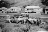 Picture relating to Yeppoon - titled 'Emergency landing of a Qantas Gypsy Moth at Farnborough, Yeppoon, 1929'