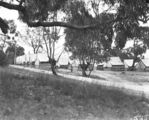 Picture relating to Yarralumla - titled 'Tradesmen's mess - Westlake Camp, opposite present Yacht Club Yarralumla.'