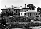 Picture relating to Adelaide Avenue - titled 'Prime Ministers Lodge from the west, Adelaide Avenue, Deakin.'