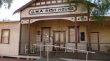 Picture relating to Barellan - titled 'The First C.W.A Rest House in Australia'