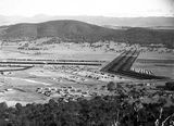 Picture relating to Ainslie - titled 'North end of Braddon and Haig Park from Mt Ainslie'