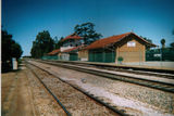Picture relating to Merredin - titled 'Merredin Station Old Station Closed 1966.'