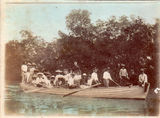 Picture relating to Thursday Island - titled 'Thursday Island picnic party going to Prince of Wales Island'