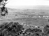 Picture relating to Kingston - titled 'View from Red Hill over Collins Park, Manuka and Kingston to Duntroon.'