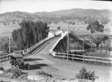Picture relating to Murrumbidgee River - titled 'Bridge over the Murrumbidgee River at Tharwa'