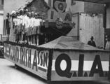 Picture relating to Queensland - titled 'Queensland Irish Association float, ca. 1935'