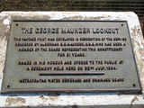 Picture relating to Prospect - titled 'George Maunder Lookout plaque'