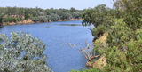 Picture relating to Fitzroy Crossing - titled 'Fitzroy River Fitzroy Crossing'