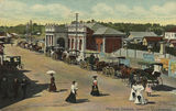 Picture relating to Ipswich - titled 'Ipswich Railway Station, Queensland, ca. 1906'