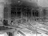 Picture of / about 'Parliament House' the Australian Capital Territory - Old Parliament House chamber under construction