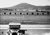 Picture of / about 'Parliament House' the Australian Capital Territory - View from Old Parliament House to Mt. Ainslie.
