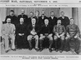 Picture relating to Sydney - titled 'Honorary medical staff from the Brisbane Hospital, 1900'