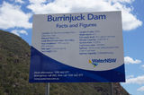 Picture relating to Lake Burrinjuck - titled 'Burrinjuck Dam facts & figures'