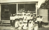 Picture relating to Proserpine - titled 'Pupils at Mt. Marlow State School, Proserpine, 1937-1938'