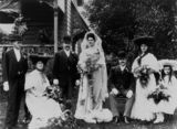 Picture relating to Maryborough - titled 'Gert and Lee Steindl on their wedding day, Maryborough, 1905'