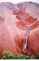 Picture relating to Uluru / Ayers Rock - titled 'Waterfall on Uluru'