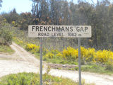 Picture relating to Frenchmans Gap - titled 'Mansfield-Woods Point Road'