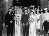 Picture relating to Queensland - titled 'Family and friends gather at this double wedding in 1939'
