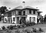 Picture relating to Adelaide Avenue - titled 'Prime Minister's Lodge from the north, Adelaide Avenue, Deakin.'