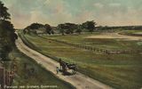 Picture relating to Cleveland - titled 'Horsedrawn carriage on a country road at Cleveland'