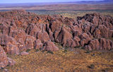 "Picture relating to Chichester Range - titled '""Beehive"" domes of the Bungles WA'"