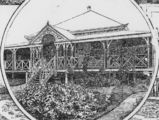 Picture relating to Blackall - titled 'Sketch of the Bank of New South Wales Blackall branch, 1896'