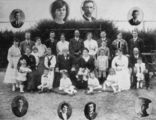 Picture of / about 'Bingera' Queensland - Golden wedding anniversary of Angus and Catherine Gibson, at Bingera, 1916