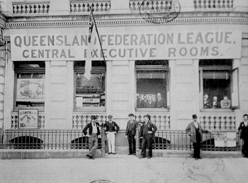 Picture of / about 'Brisbane' Queensland - Queensland Federation League rooms Brisbane, Queensland, 1899