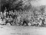 Picture relating to Enoggera - titled 'Albion Baptist Church infant class at Enoggera, Brisbane, 1900-1910'