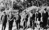 Picture relating to Kingaroy - titled 'First visit of the Mains Road Commission Group, 1921'