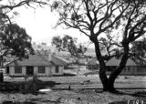 Picture relating to Forrest - titled 'Oakley and Parkes cottages, Dominion Circuit, Forrest.'
