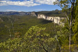 Picture relating to Carnarvon Gorge - titled 'View from Boolimba Lookout'