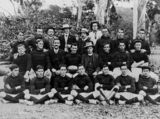 Picture relating to Esk - titled 'St. Agnes Gordon Rugby Union Football Club, Esk, 1911'