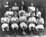 Picture relating to Eidsvold - titled 'Winners of the Rovers Cup football trophy, Eidsvold, 1914'