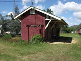 Picture relating to Linville - titled 'Linville Rail Station'