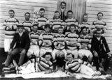 Picture relating to Goomburra - titled 'Goomburra Rugby Union Football Club, 1910'