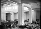 Picture of / about 'Parliament House' the Australian Capital Territory - Old Parliament House Kings Hall, under construction.