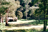 Picture relating to Howqua Hills Historical Area - titled 'Howqua Hills Historical Area: Noonans Flat & Hut'
