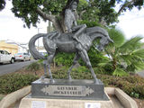 Picture relating to Gayndah - titled 'Gayndah - Queensland Derby monument'