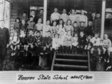 Picture relating to Bororen - titled 'Children at the Bororen State School about 1900'