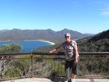 Picture relating to Wineglass Bay - titled 'Wineglass Bay from lookout'