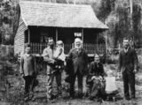 Picture relating to Nambour - titled 'Perren family portrait, Nambour, ca.1890'