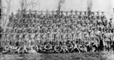 Picture relating to Brisbane - titled 'Queensland Mounted Infantry, 'A' Company, bound for South Africa, 1899'